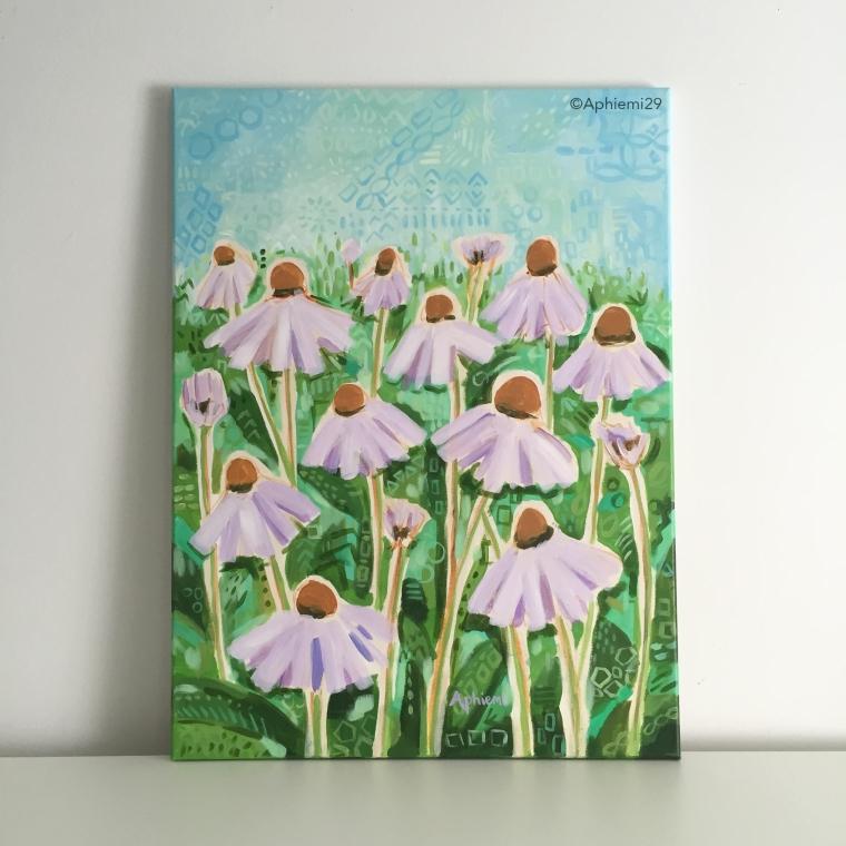 Echinacea 18x24