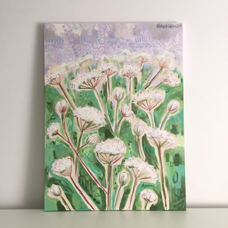 Queen Annees Lace 18x24